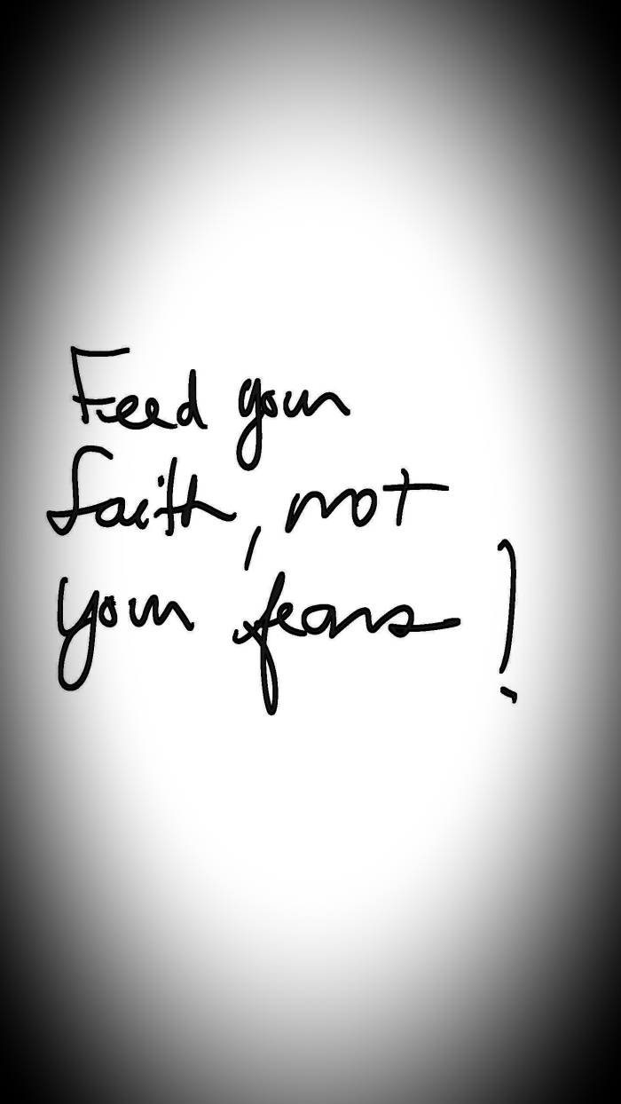 FEED YOUR FAITH!